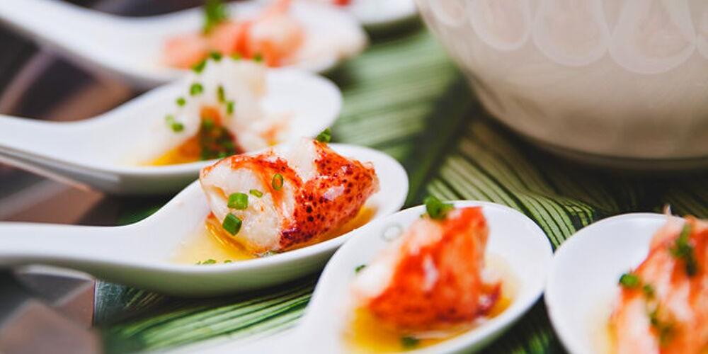 Cold Seafood Canapés | $40