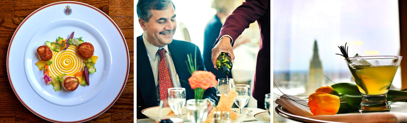 Services professionnels de restauration événementielle et de traiteur