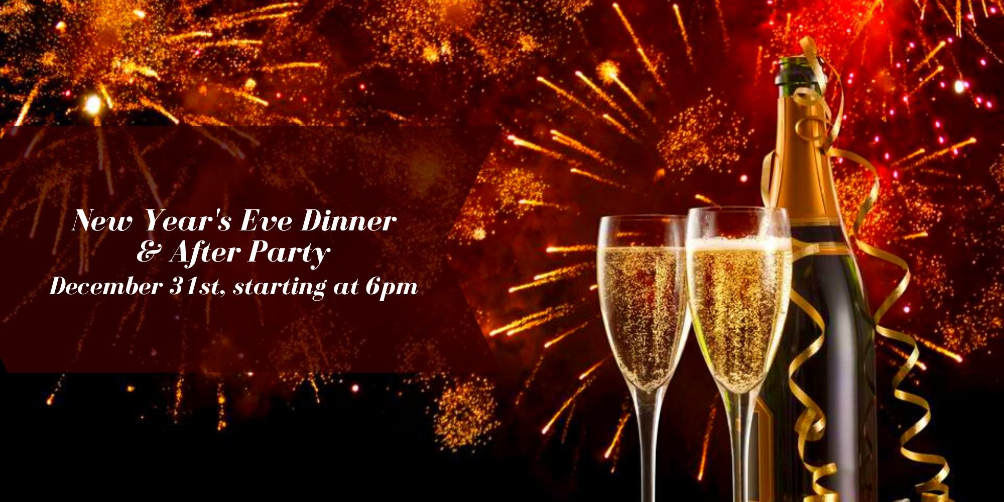 Featured event : New Year's Eve Dinner & After-Party