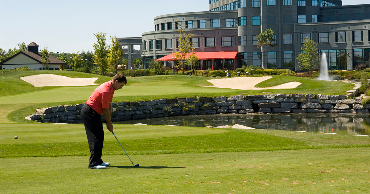 Featured event : Annual golf tournament